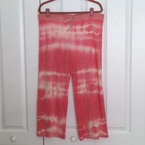 Juicy Couture Tie-Dye Terry Pants Size L